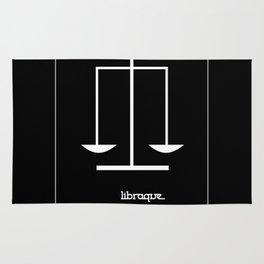 Libra ~ Libraque ~ Zodiac series Rug