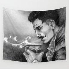 Dragon Age Inquisition - Dorian Pavus - Morning tea Wall Tapestry