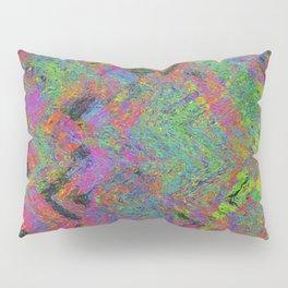 Abstracting Pink Pillow Sham