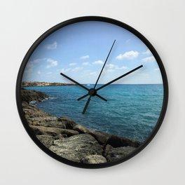 Beautiful Cyprus Wall Clock