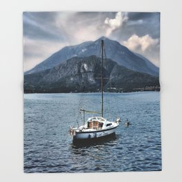 Rock Me On The Water Throw Blanket