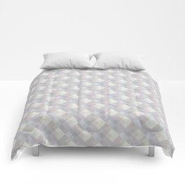 Light purple rhombuses. Comforters