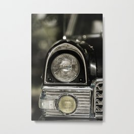 closeup of classic luxury car Metal Print