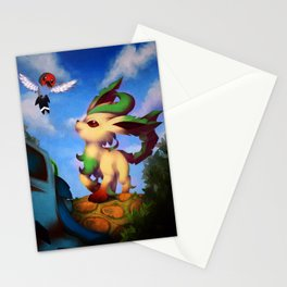Leafeon Stationery Cards