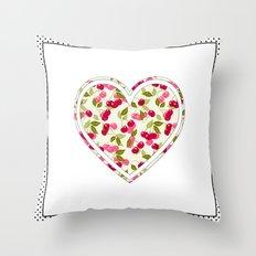Summer Of Love . Throw Pillow