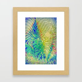 Fern and Fireweed 01 Framed Art Print