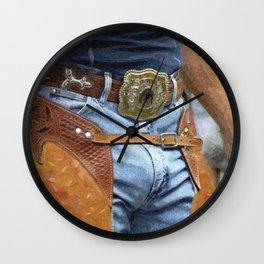 Cowboy Crotch Wall Clock
