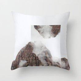 Vis-à-vis Throw Pillow