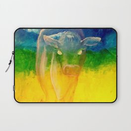 Gone Too Soon: Spirit of the Cow Laptop Sleeve