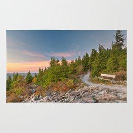 Spruce Knob Twilight Trail Rug