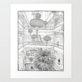 Power Plant (Right Page) Art Print