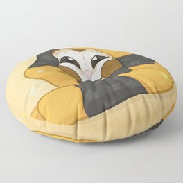Cozy Barn Owl Floor Pillow