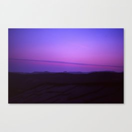 Purple Landscape Canvas Print
