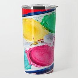Artist Paint Box Colorful Palette Travel Mug