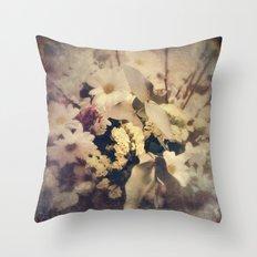 Flowers of Nostalgia Throw Pillow