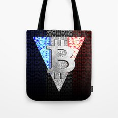 bitcoin france Tote Bag