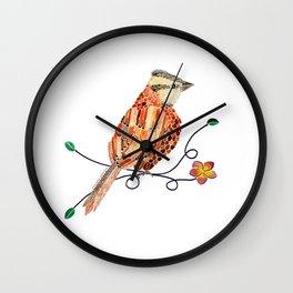 Bird of Costa Rica, comemaiz Wall Clock