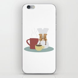 Coffee (Pour Over) iPhone Skin