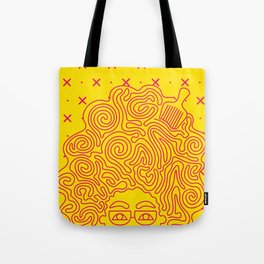 Fro Up Tote Bag