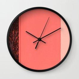 Between Light And Shadow Wall Clock