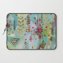 """""""Liminal Rights"""" Original Painting by Flora Bowley Laptop Sleeve"""