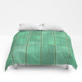 Cyan Tiles Comforters