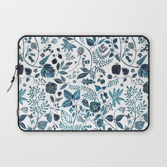 Blue Meadow Laptop Sleeve
