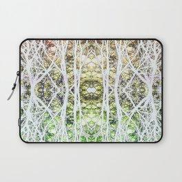 124 - White branches design Laptop Sleeve