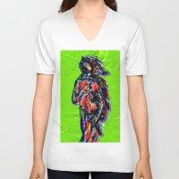 venus V-neck T-shirts featuring Venus by Alec Goss