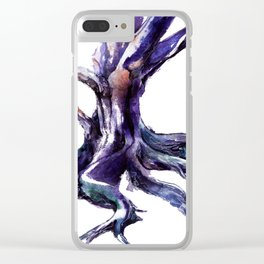 Rooted Clear iPhone Case