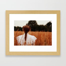 Field Coup Framed Art Print