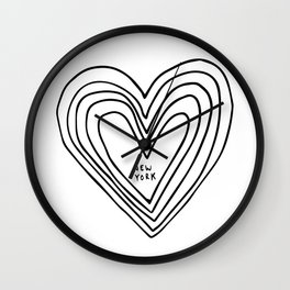 All Day. Every Day. Heartbeats for NYC. Wall Clock