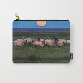Moonrise over the Flock Carry-All Pouch