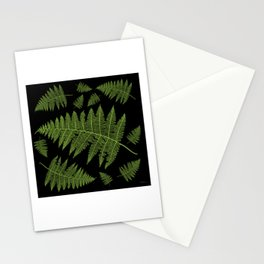 Fern Leaves Stationery Cards