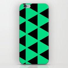 Sleyer Black on Green Pattern iPhone & iPod Skin