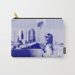 City Girl — Pseudo Risograph Carry-All Pouch