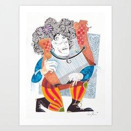 Orpheus Art Print