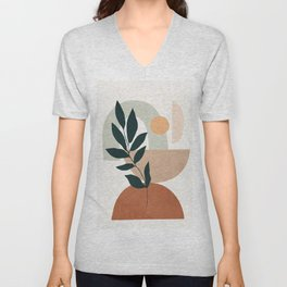 Soft Shapes IV Unisex V-Neck