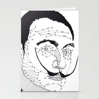 dali Stationery Cards featuring DALI by pointing@faces