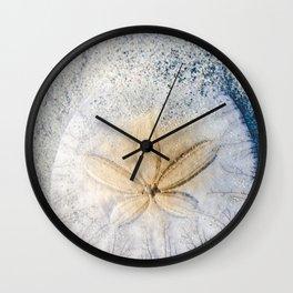 Sandy Dollar Wall Clock