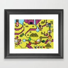 valley Framed Art Print