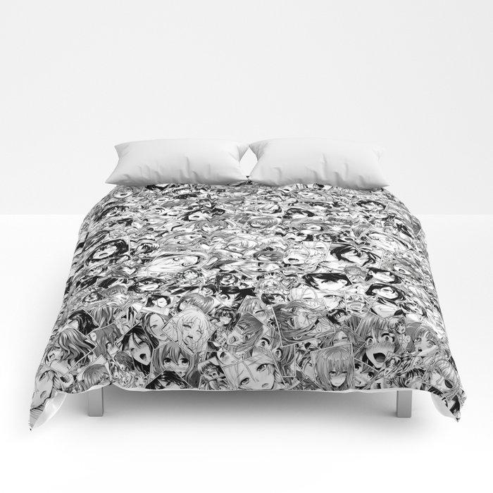 Manga ahegao Comforters