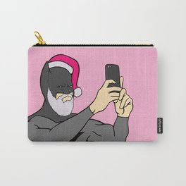 Bat Santa Christmas Carry-All Pouch