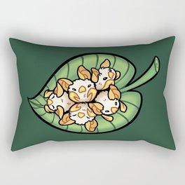 Cotton Ball Bats Rectangular Pillow