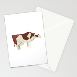 Origami Cow Stationery Cards