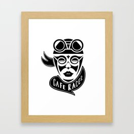MRS CAFE RACER Framed Art Print