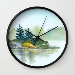 Little Pine Point Wall Clock