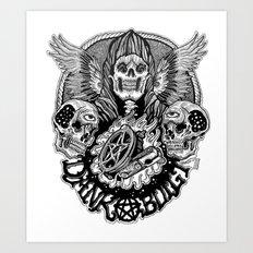 dankbuilt Art Print