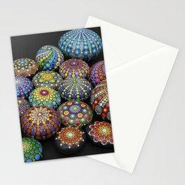 Mandala painted stones 2 - Photography Stationery Cards