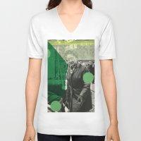 amsterdam V-neck T-shirts featuring Amsterdam by Naomi Vona